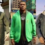 Grand Theft Auto V Characters - Michael, Franklin and Trevor