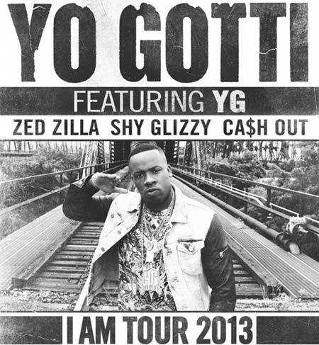 Yo Gotti - I Am Tour 2013