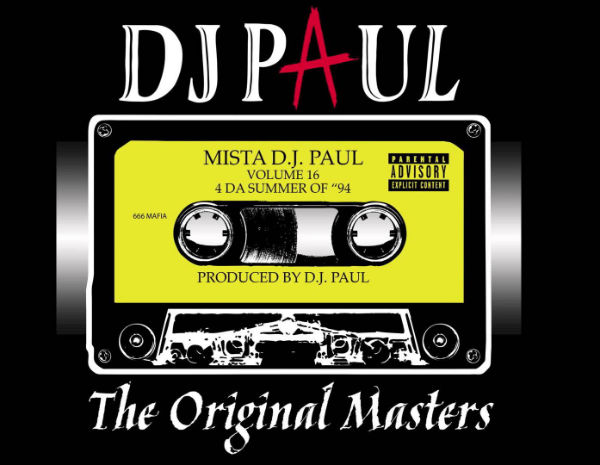 DJ Paul Vol 16 The Original Masters