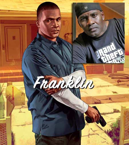 Shawn Fonteno as Franklin in Grand Theft Auto 5