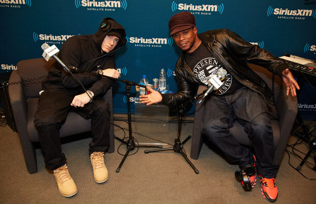 Eminem SiriusXM Town Hall Interview on Shade 45 with DJ Sway