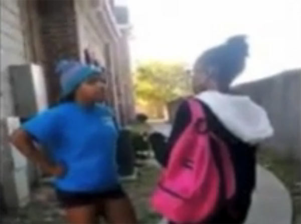 Sharkeisha Fight, Sucker Punches and Kicks Victim