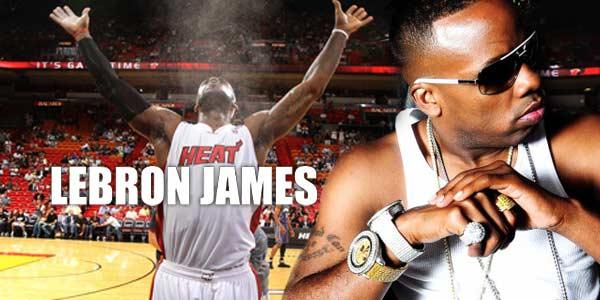 Yo Gotti in the music single Lebron James