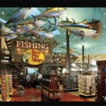 Bass Pro Shop Memphis Pyramid Fishing Department