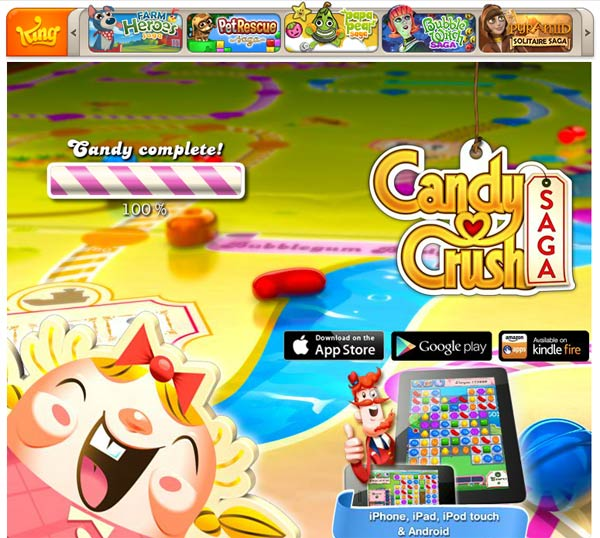 Candy Crush Saga by King (Facebook App)
