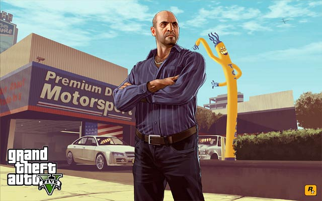 Grand Theft Auto Platinum Award Sony 1 Million Copies