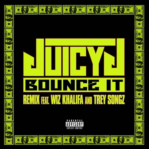 Juicy J in the music song Bounce It