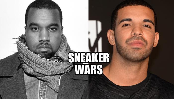 Kanye West and Drake Sneaker Wars: Adidas vs Nike
