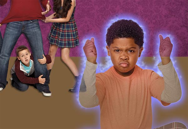 Rapper Lil P-Nut on The Haunted Hathaways on Nickelodeon