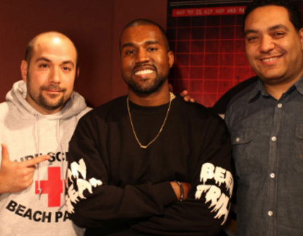 Photo of Kanye West with Juan Epstein