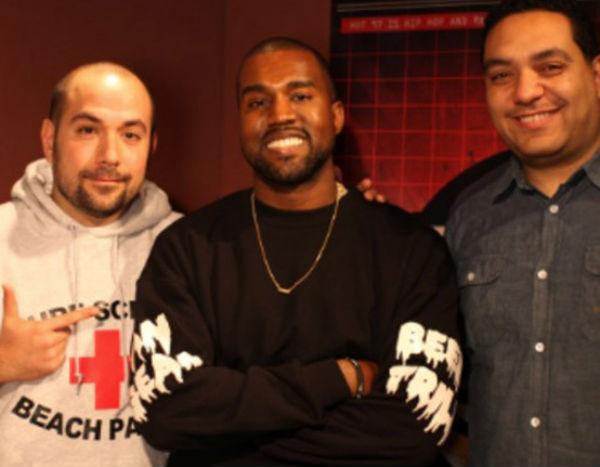 Photo of Kanye West with Juan Epstein