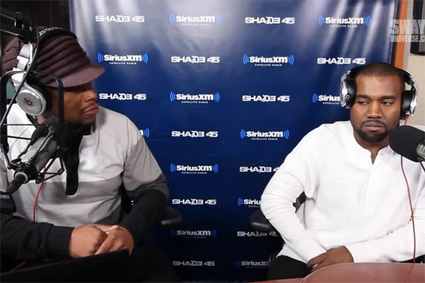 Sway and Kanye West interview gets heated