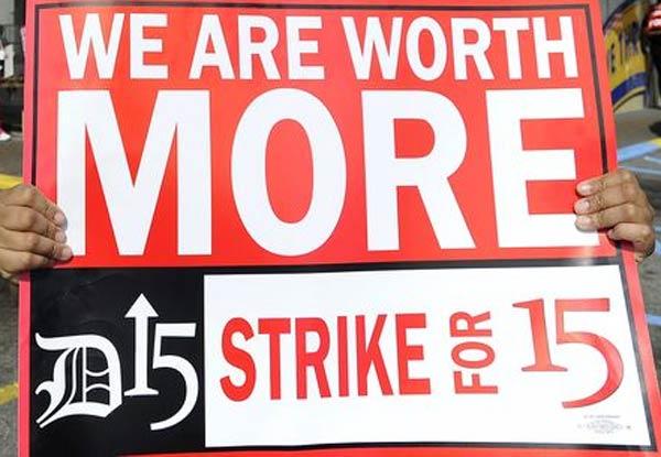Minimum Wage Strike