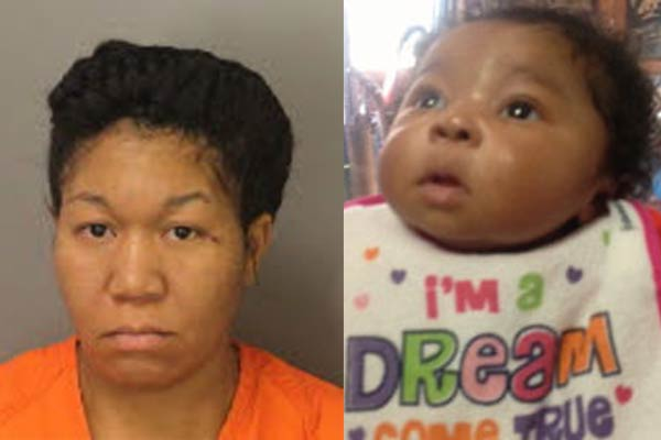 Andrea Walker charged for 7 week-old missing baby Aniston Walker