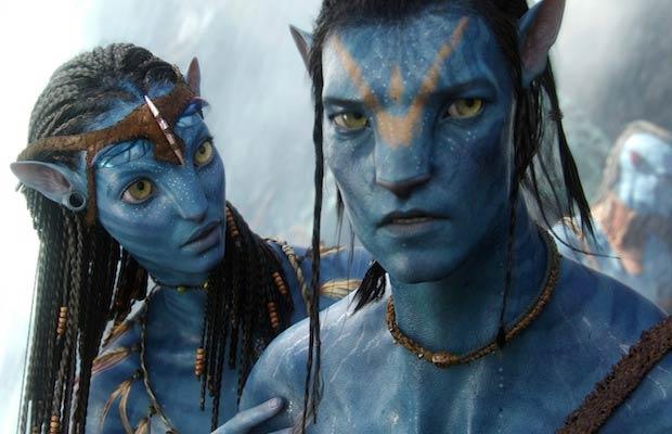 Avatar - Neytiri and Jake Sully