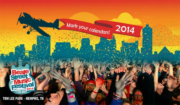 Memphis In May - Beale St Music Festival 2014