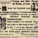 FBN public service announcement used in the late 1930s and 1940s