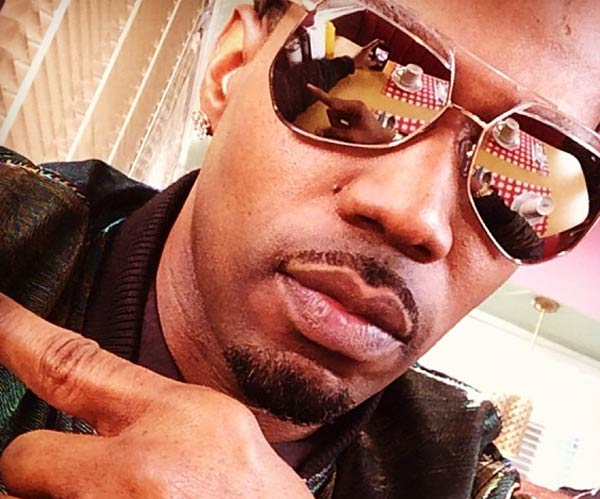 Rapper Juicy J sporting shades