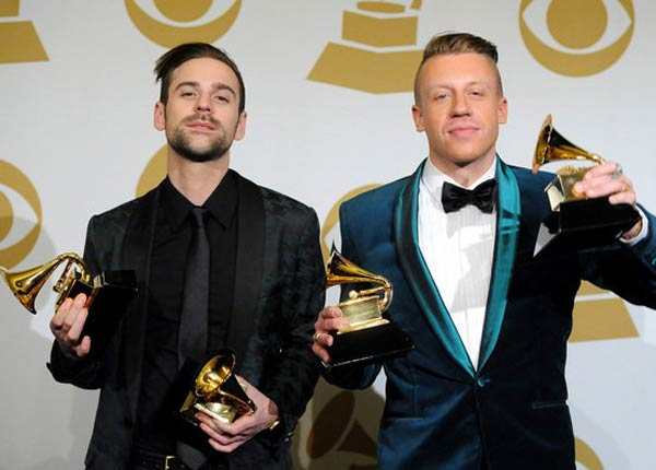 Macklemore & Ryan Lewis Wins 4 Grammys in Rap/Hip Hop Field