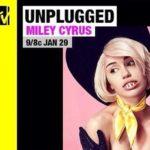 Miley Cyrus MTV Unplugged - Pasties and Buck Teeth