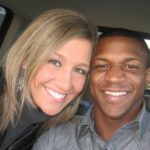 Alfred Wright and wife Lauren