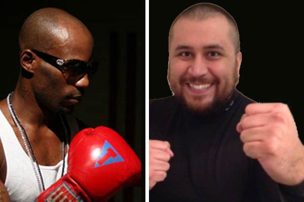 DMX and George Zimmerman celebrity boxing match