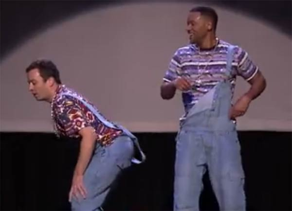 Evolution of Hip Hop Dancing Jimmy Fallon Will Smith