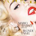 Miley Cyrus German Vogue Cover