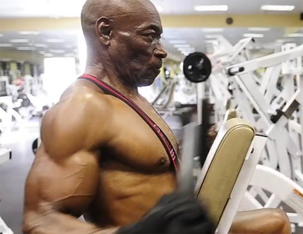 Sam Sonny Bryant Jr 70 Year Old Body Builder