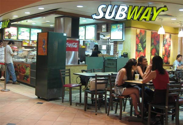 Subway Fast Food Chain