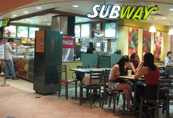Subway Fast Food Chain