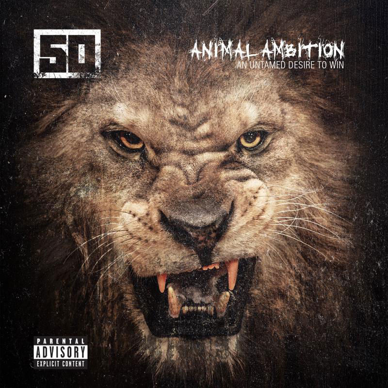 50 Cent 'Animal Ambition' Album Cover