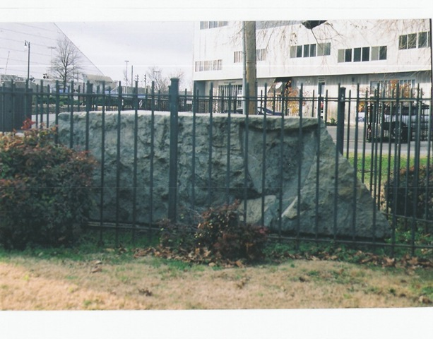 Reported Slave Auction Block Slab in Memphis at Main and Auction