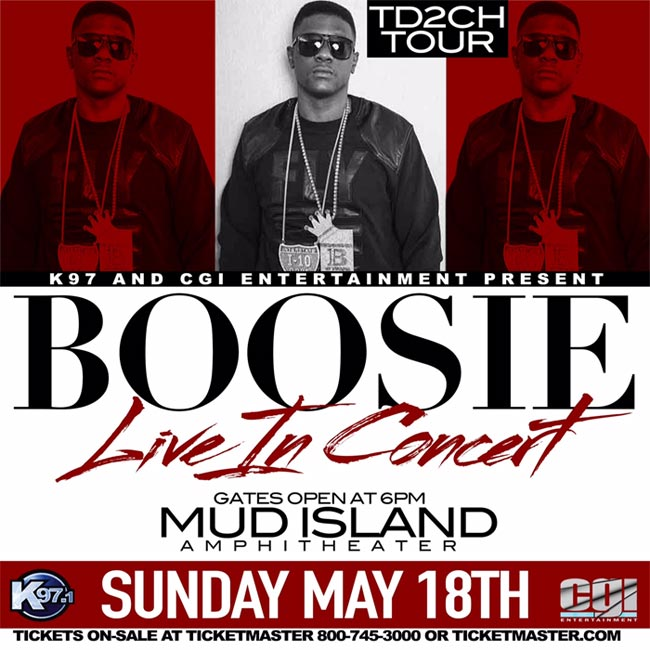 Boosie TD2CH Tour Live In Concert presented by CGI Entertainment at Mud Island Amphitheatre
