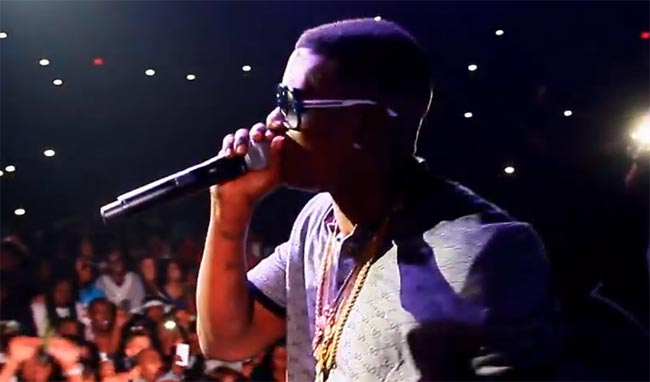 Lil Boosie First Concert performance
