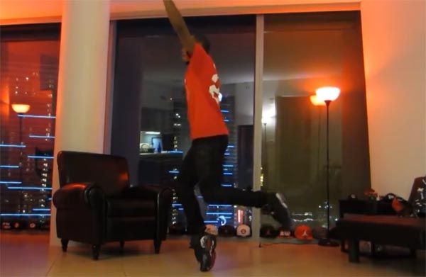 Lil Buck Memphis Jookin defies gravity