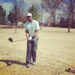 Penny Hardaway playing golf