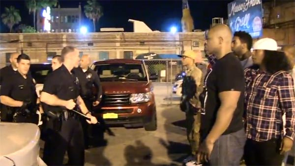 TI, The Game and LAPD intense standoff after security beatdown friends