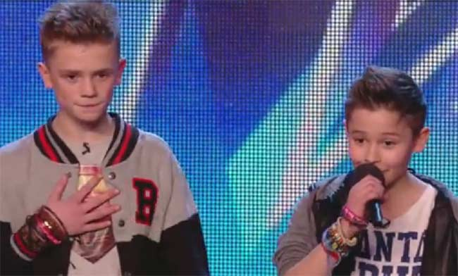 Britains Got Talent Bars and Melody performance teen