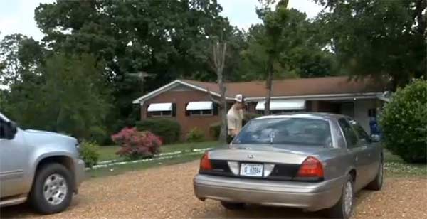 family hogtied in home invasion Marshall County