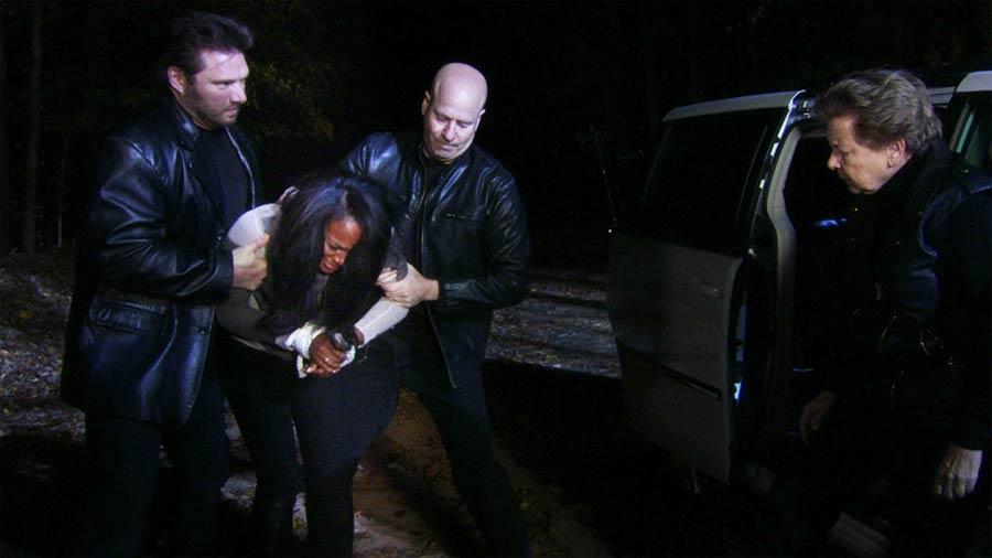 Candace held at gunpoint - The Haves and the Have Nots