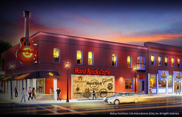 Hard Rock Cafe Memphis 126 Beale Street