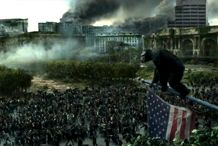 Dawn of the Planet of the Apes trailer July 11