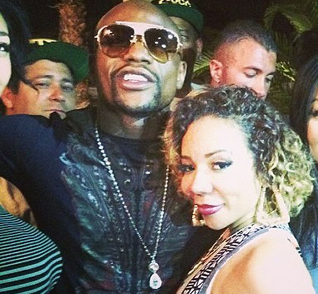 Floyd Mayweather and Tiny photo