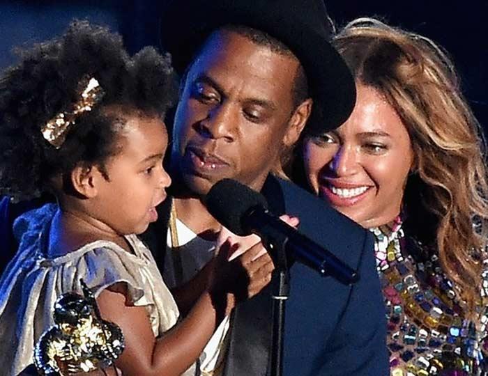 Beyonce Blue Ivy Jay-Z MTV VMA 2014