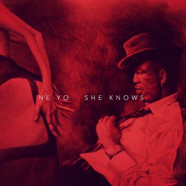 Ne-Yo She Knows music single artwork