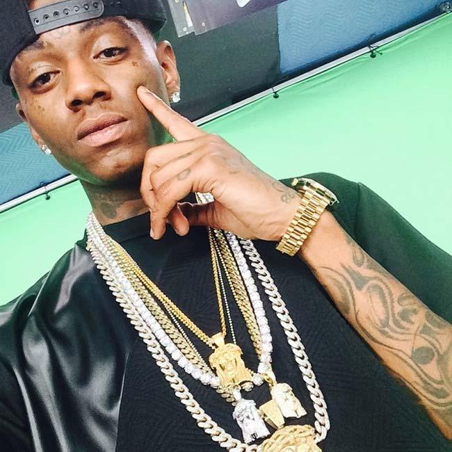 rapper Soulja Boy jewelry
