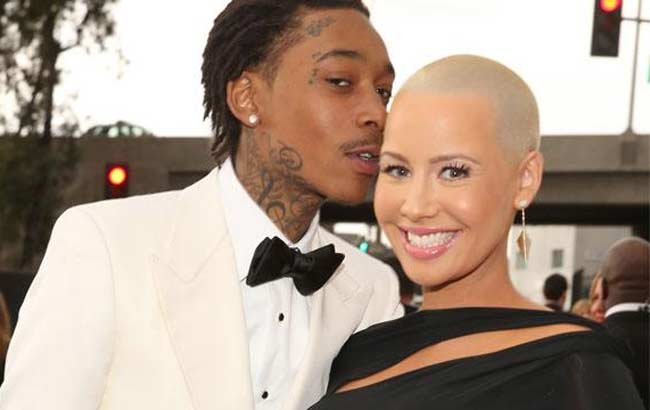 Amber Rose and Wiz Kahlifa