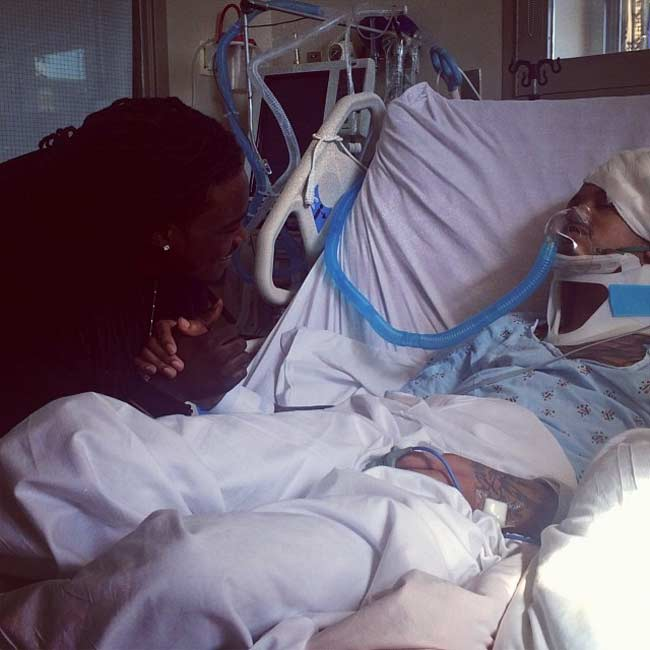 August Alsina put in coma hospital