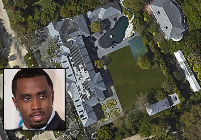 Diddy Holmby Hills home Los Angeles